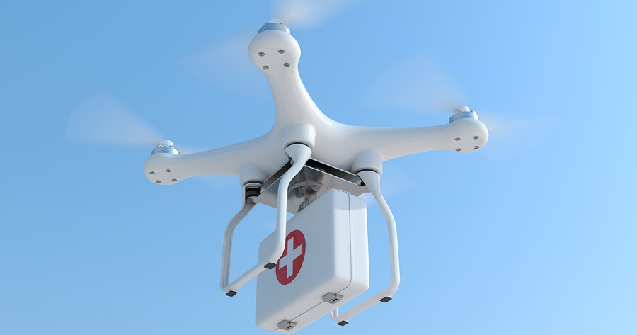 NAIROBI Thomson Reuters Foundation Tanzania Is Set To Launch The Worlds Largest Drone Delivery Network In January With Drones Parachuting Blood And