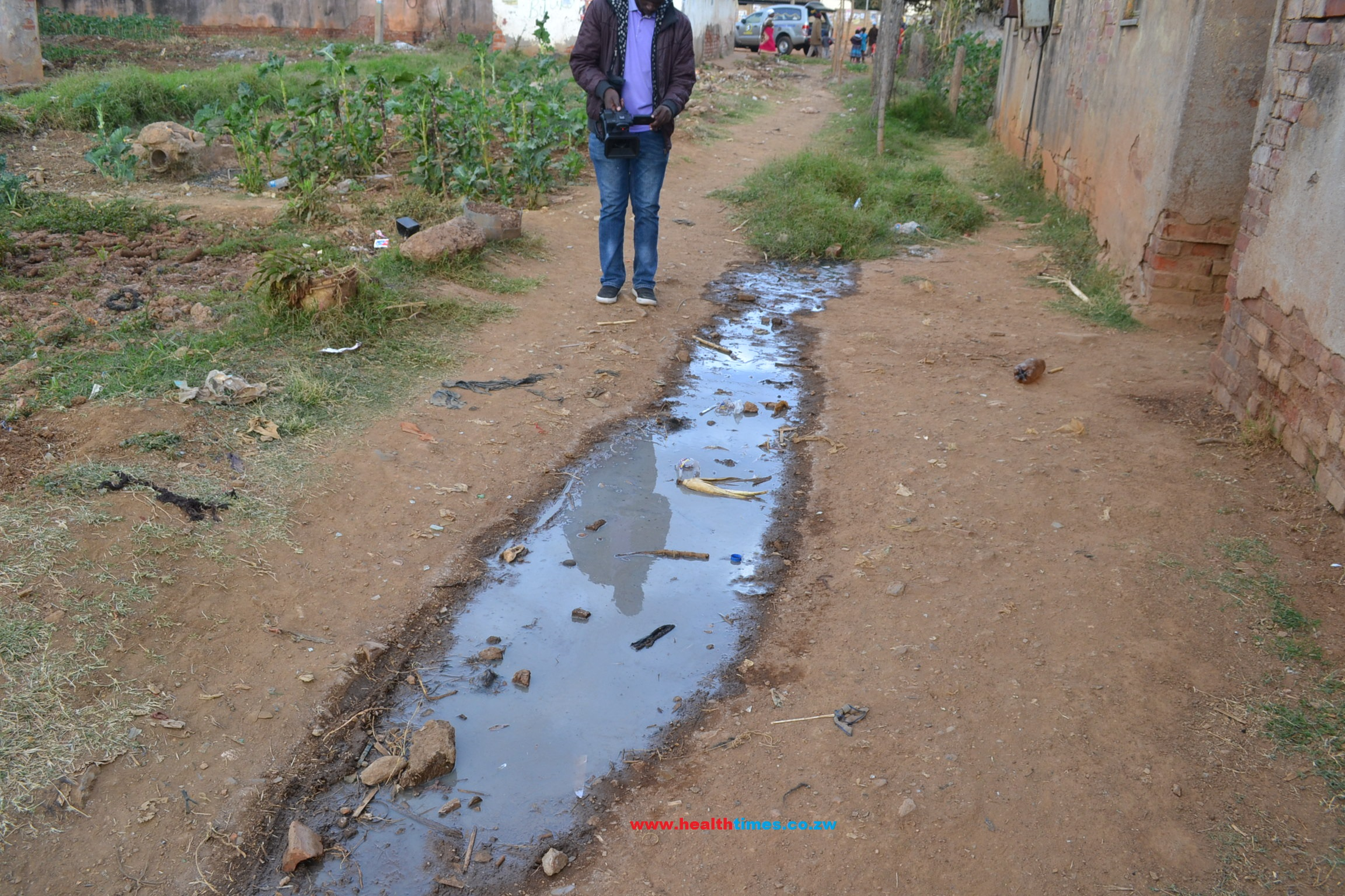 Raw Sewage In Kadoma