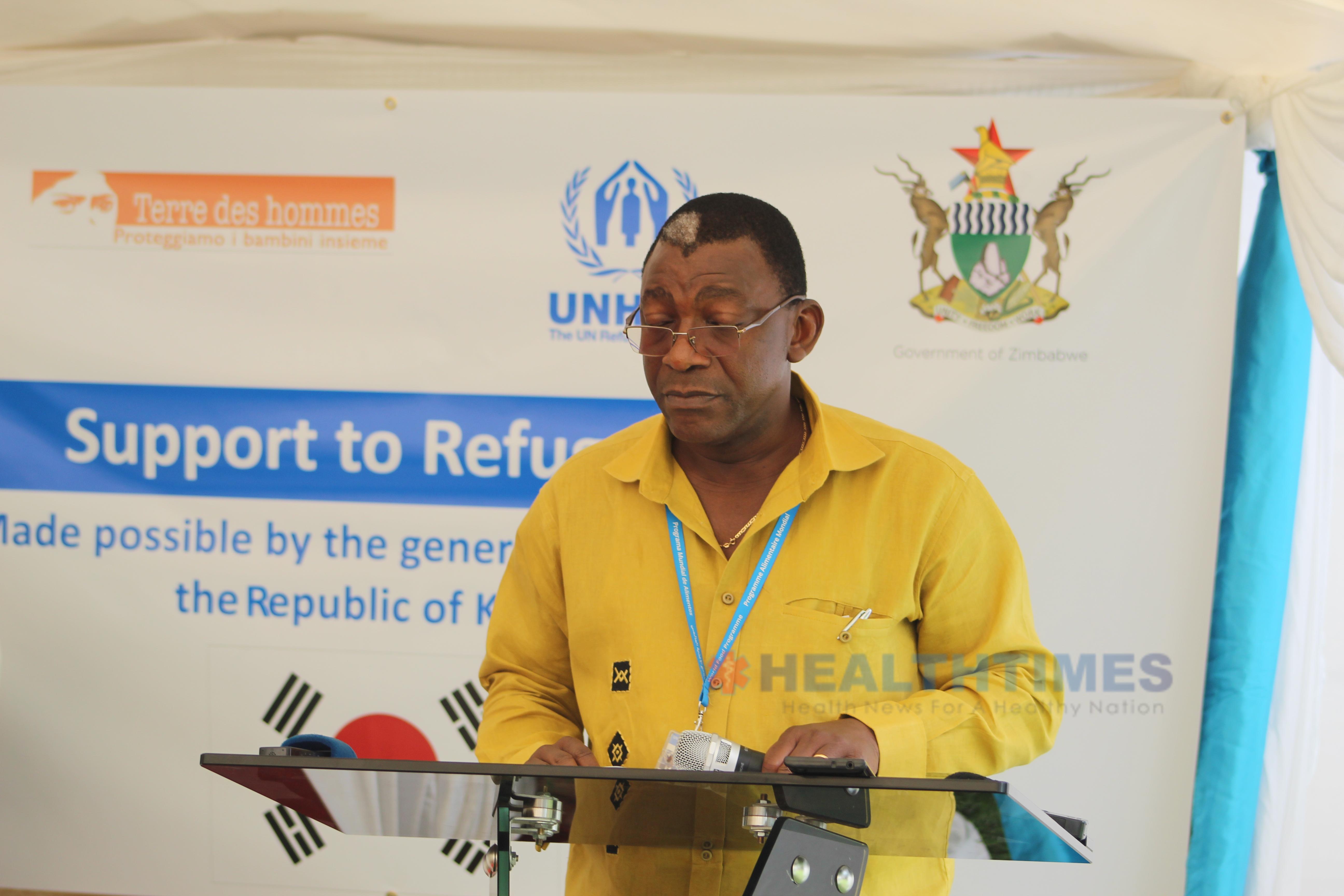 WFP Country Rep Eddie Rowe