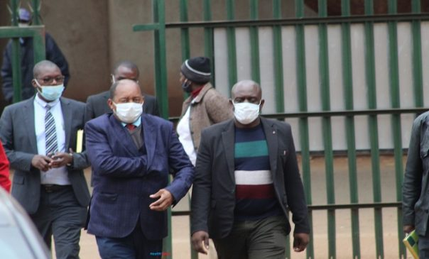 minister Obhadia Moyo at Court